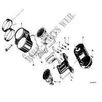 Instruments combinat .single components for BMW R 100 RT 1980