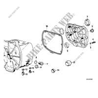 Gearbox cover,gasket and various bolts for BMW R 100 RT 1980