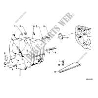 Gearbox housing/mounting parts/gaskets for BMW R 100 RT 1980